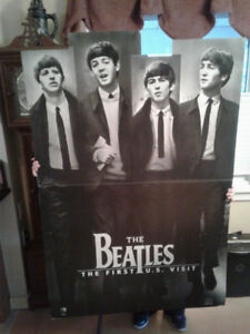 BEATLES FLOOR POSTER