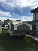 2003 large flagstaff tent trailer