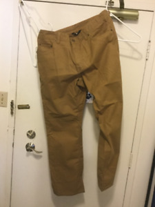 The North Face Men's hiking pants size 36 NWT