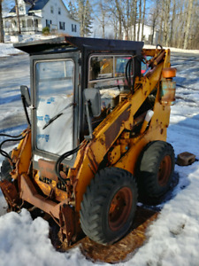 SOLD PPU UNC 060 1980s skid steer for parts/repair