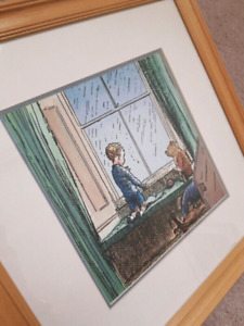 Winnie the Pooh Collectable Comic Print