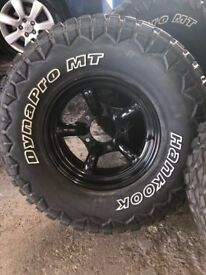 Defender or Discovery challenger wheels and tyres