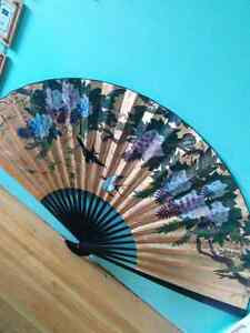 FREE Large Asian Style Decorative Fan