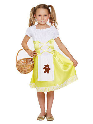 Child Goldilocks Porridge Girls Fancy Dress Outfit Kids Book Day Week Costume](Goldilocks Outfit)
