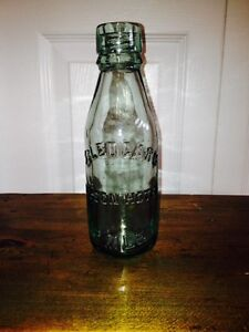 Antique S. Ledgard Nelson Hotel Beer Bottle