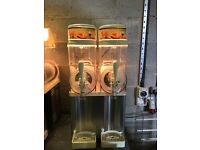 Slush machine x 2 - ideal for ice cream van / shop / cafe / trailer - both immaculate - £799 each