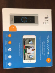 BNIB Ring Video doorbell PRO and Ring Chime Pro