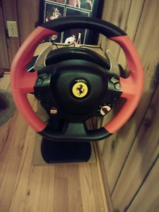 Thrustmaster xbox oone ferrari wheel