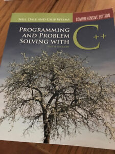 Programming and Problem Solving with C++ Dale and Weems 5th ed