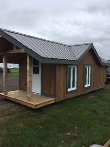 Bunkie Cabin Moveable!