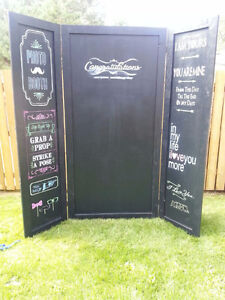 Awesome wedding photo booth!
