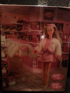 BARBIE ON WAY NEW IN BOX