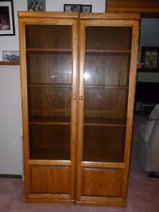 Display/Bookcases   Oak