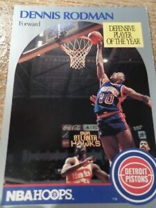 DENNIS RODMAN NBA CARD 1990     (VIEW OTHER ADS) Cambridge Kitchener Area image 1