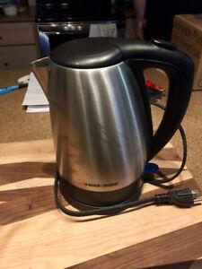 Black & Decker Electric Tea Kettle