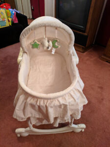 The First Years removable/adjustable Bassinet/change table