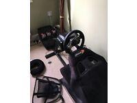 Racing Wheel and Seat