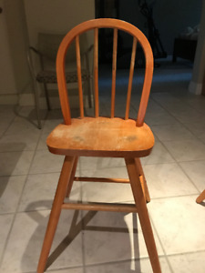Ikea Junior Chair - Wood