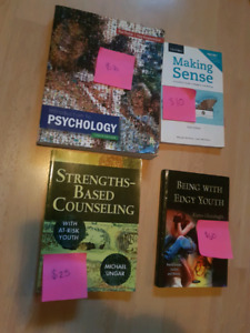 Child & Youth text books - NSCC and MSVU