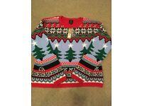 Christmas jumper, Large, River Island, BNWT