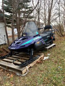 1994 Arctic Cat 340 Puma and Trailer