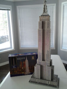 casse-tête 3D Wrebbit Empire State Building