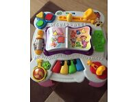 Leapfrog Learn and Groove Activity Table, pink