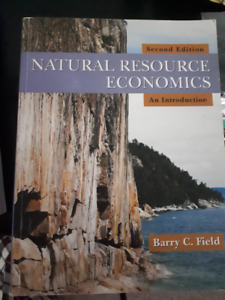Natural Resource Economics: An Introduction, 2nd ed.