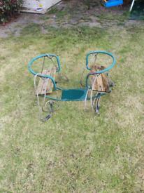 2 child seesaw swing