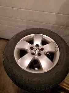 Studded hakkapeliita 7 ice tires.  195/65/R15 Strathcona County Edmonton Area image 4