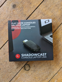 Shadowcast by Genki (capture card for Nintendo Switch, PS4, PS5 etc)