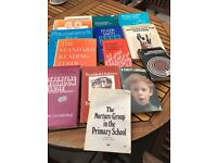 Job lot retro education books