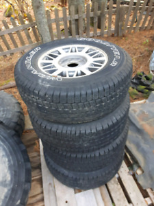Gmc Sonoma summer rims and tires
