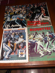 CFL CARDS -- CFL MAGAZINES & NFL CARDS Cornwall Ontario image 1