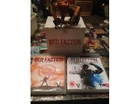 Red faction 2 PS3 games and toy