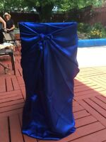 Chair covers and wedding items