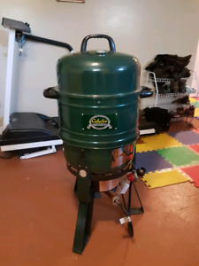 Cabela's Smoker/Barbecue: propane or charcoal