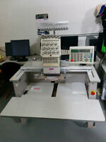 SWF Embroidery Machine ( 1 Head 15 colors )
