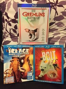Blu-Ray For Kids 3 (Ice Age & Bolt now SOLD)