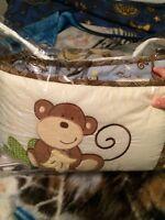 Monkey crib set