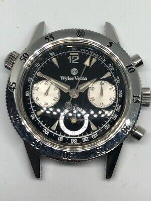 Wyler Vetta Diver Chronograph Reserve de Marche Power Reserve Valjoux 7750