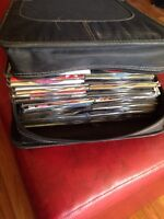 CDs and CD case