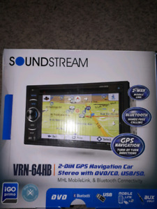 Soundstream touch screen double din