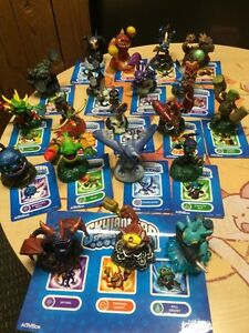Skylanders Spyro's Adventure game characters and stickers