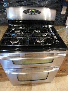 Maytag 5-Burner Double Oven Gas Range