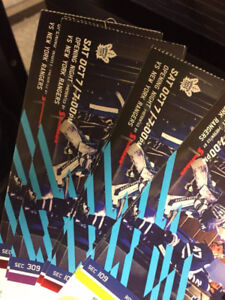 Toronto Maple Leafs Tickets to all Home Games in Upper Bowl