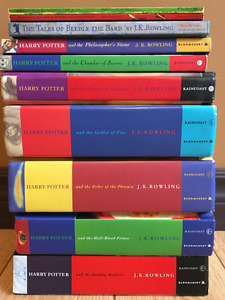 Harry Potter: Complete Collection, In-Universe Books, Book Marks