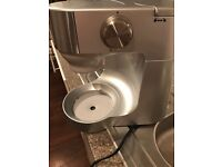 Kenwood chef food mixer with food processor/ liquidiser