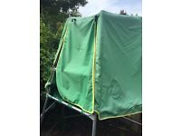 Kids TP Climbing frame and shelter for sale