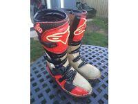 Mx motocross boots pit bike